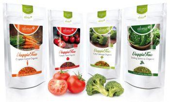 Tés de vegetales biológicos