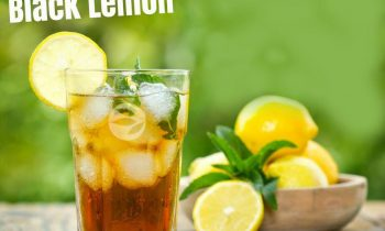 Black Lemon Cocktail