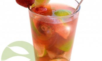 Hot Strawberry-Caipirinha