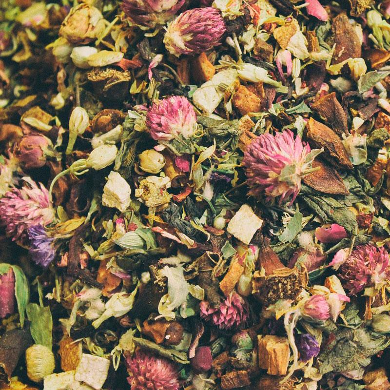 mayorista de té verde aromatizado
